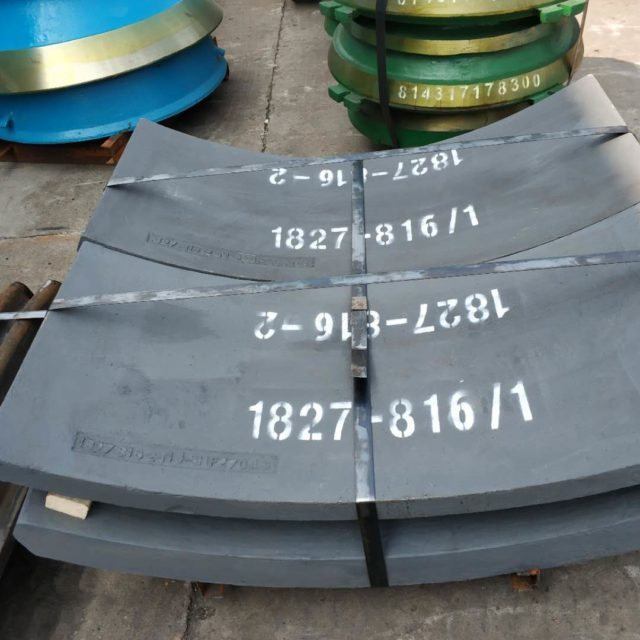 Gyratory Crusher Liners