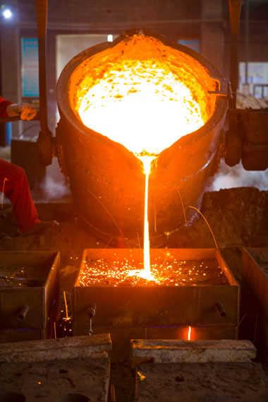 Mangan-Stahlgießerei