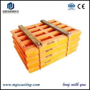 Manganese Jaw Plates