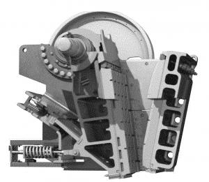CJ411 Jaw Crusher Geometry