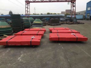 crusher jaw plate package