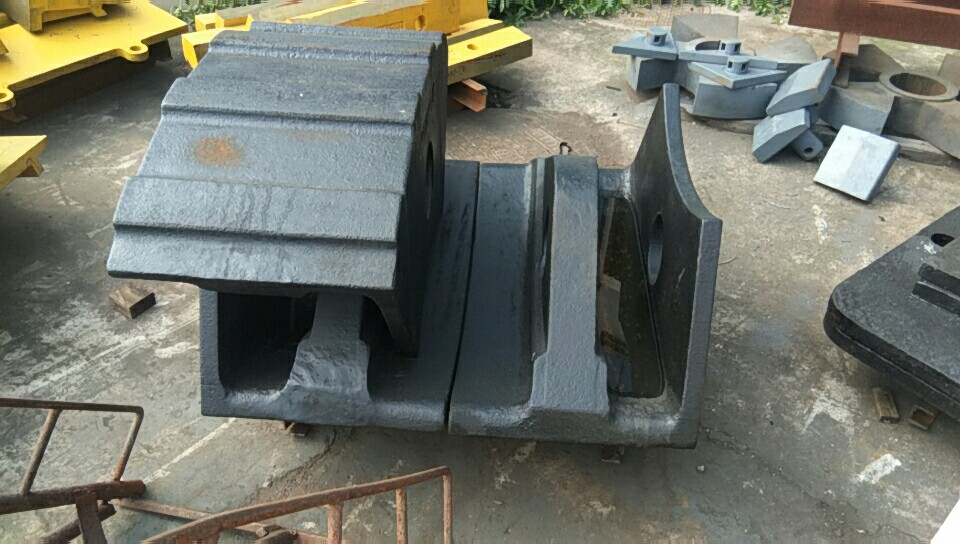 Rotor Caps For Steel Scrap Shredder